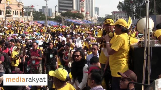 (Bersih 4) Ambiga Sreenevasan: We Are All Here Today Because We Love Malaysia
