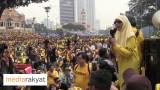 (Bersih 4) Dr Wan Azizah: Masa Sudah Tiba, Kita Nak Tukar, Kita Tak Percaya Lagi