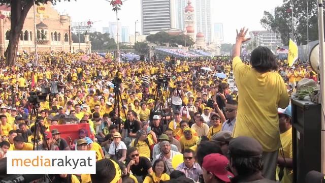(Bersih 4) Hishamuddin Rais: Ini Adalah Ucapan Kita Kepada Najib Razak & Rosmah Mansor