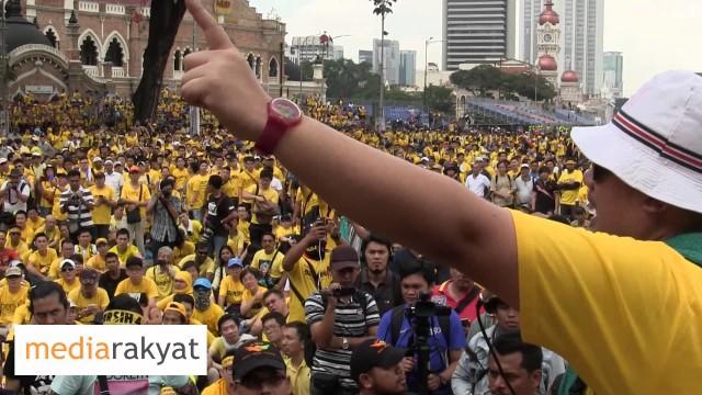 (Bersih 4) Peserta Perhimpunan: Masalah Malaysia Adalah Masalah Kita Semua