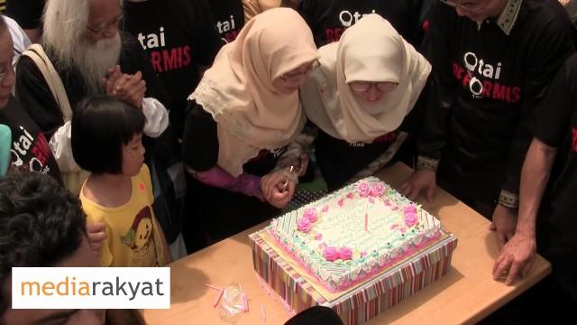 Selamat Hari Jadi Saudara Anwar (Happy Birthday, Anwar)