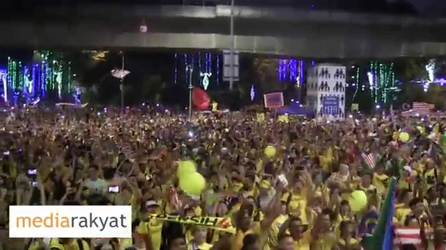 (Bersih 4) Merdeka Countdown 2015 & Negaraku