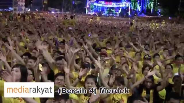 (Bersih 4) Put Your Hands Together, Ayuh Anak Muda Bangkit