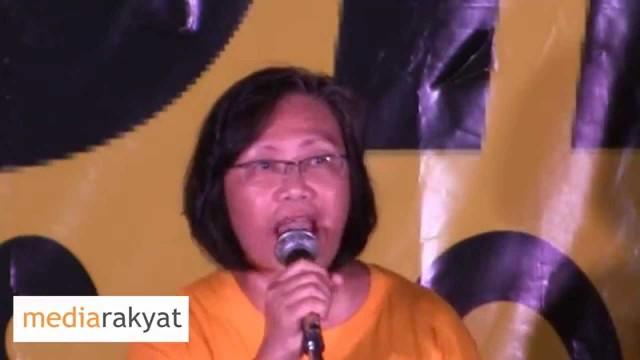 "(Bersih 4) Maria Chin Abdullah: Bila Kita Ada Bersih 5, Itu Adalah ""Celebration Of The People"""