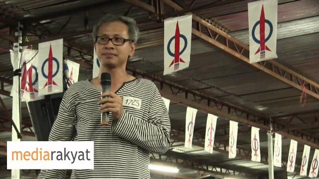 Tony Pua: Donation, Is It Really A Donation?