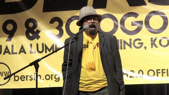 (Bersih 4) Hishamuddin Rais: Saya Menghasut Rakyat Malaysia Untuk Melakukan Kebaikan