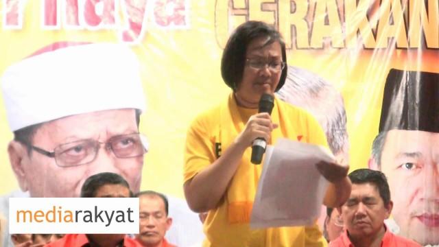 (Bersih 4) Maria Chin Abdullah: Kita Hendak Mengadakan Undi Tidak Percaya Kepada Perdana Menteri