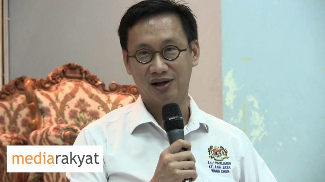 Wong Chen: Nobody Questions Najib Because Of The Patronage System