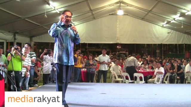 Anwar Ibrahim: It's Time We Stand Up & Be Counted, Change This Rotten Racist Corrupt Government