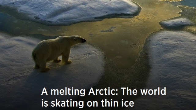 CNBC: A melting Arctic: The world is skating on thin ice