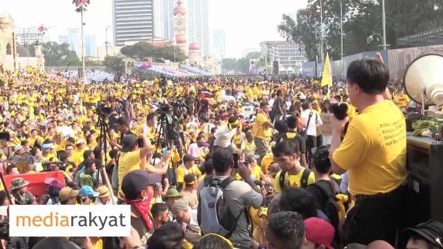 (Bersih 4) Wong Chin Huat: Kemerdekaan Bukan Sahaja Menghalau Penjajah Dari Luar