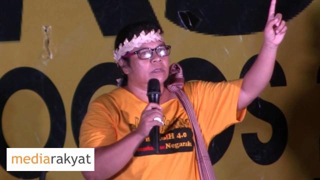 (Bersih 4) Tijah Yop Chopil: Apa Yang Berlaku SekarangJuga Dirasai Oleh Masyarakat Orang Asli