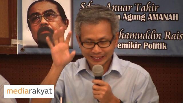 Tony Pua: Tiap Kali Ada Gabungan Yang Baru, KIta Menarik Sokongan Yang Tidak Sama
