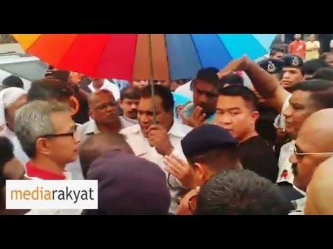 Insults Hurled At Tony Pua & Elected Reps At Deepavali Bazaar In Sungai Way PJ