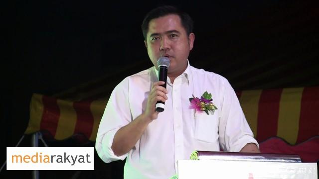 (Cantonese 广东话) Anthony Loke 陆兆福: 今日大家所面对的问题是因为国阵政府的无能