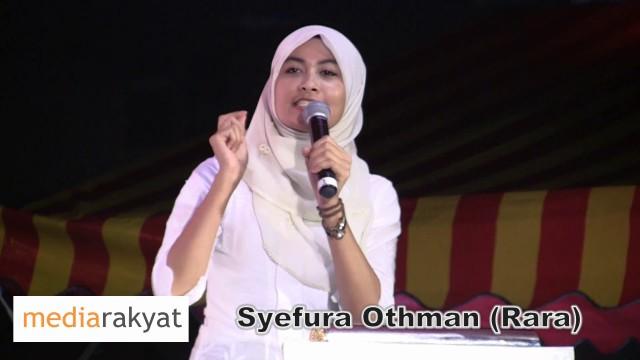 Rara (Syefura Othman): Orang Muda Mahu 1 Perubahan, Kita Mahu Buang UMNO
