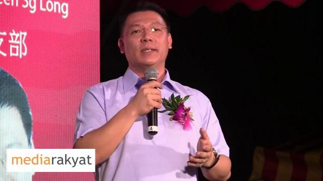 Nga Kor Ming 倪可敏: 我们虽然是一个好的国家,但是我们却有一个很烂的政府