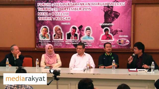 Nurul Izzah: Maruah Melayu, Adakah Yang Perlu Dipertahankan?