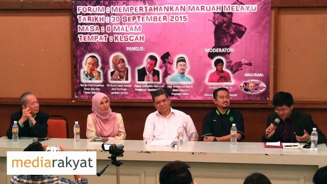 Hj Mohd Raimi: Maruah Melayu, Adakah Yang Terancam?