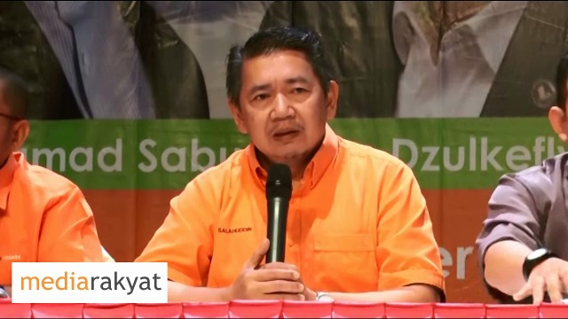 Salahuddin Ayub: We Fight For A Better Malaysia & To Replace BN In Next Election