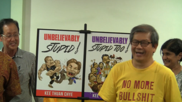 Kee Thuan Chye: Unbelievably Stupid! Unbelievably Stupid Too!