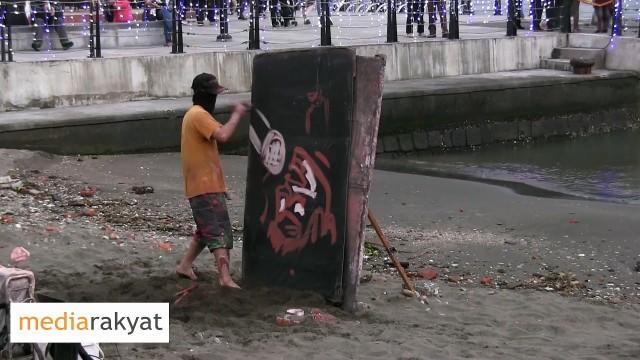 Street Artist At Taiwan Tamsui Riverside 台湾淡水河畔