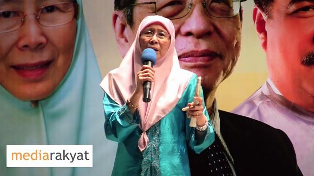 Dr Wan Azizah: Orang Yang Menjual Aset Negara, Itu Bukankah Pengkhianat?