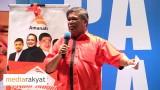 Mat Sabu: Kita Bersama Mempertahankan Nurul Izzah Daripada Diancam Oleh Kerajaan Malaysia