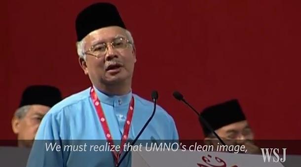 Wall Street Journal: Najib Razak and Power in Malaysia
