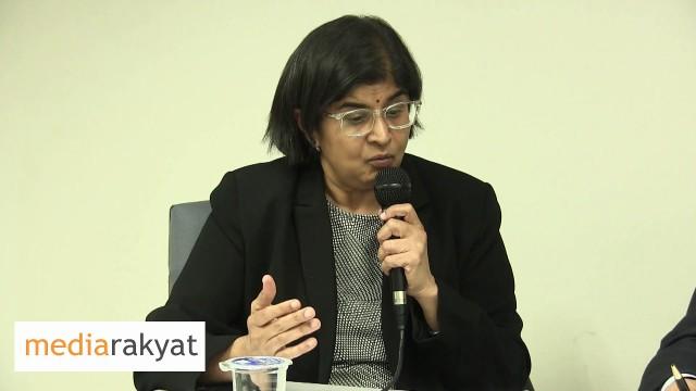 Ambiga Sreenevasan: Liberty Is Really Precious & Nobody Should Be Deprived Of That