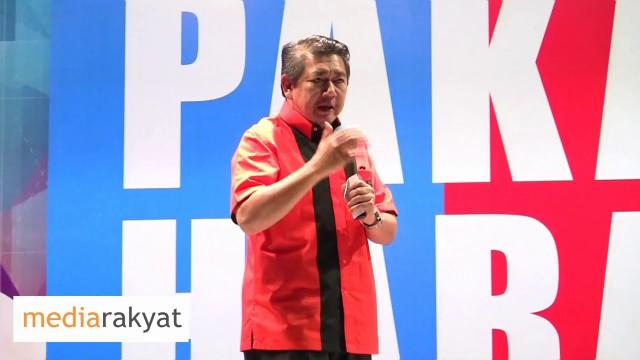 Salahuddin Ayub: Parti Amanah Negara Ini Jelas, Musuh Kita Ialah UMNO Barisan Nasional