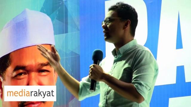 """Lee Chean Chung: Selain Membeli Ikan Masin Dari Kuantan, Juga Boleh Bawa Balik Tepung """"Merah"""""""