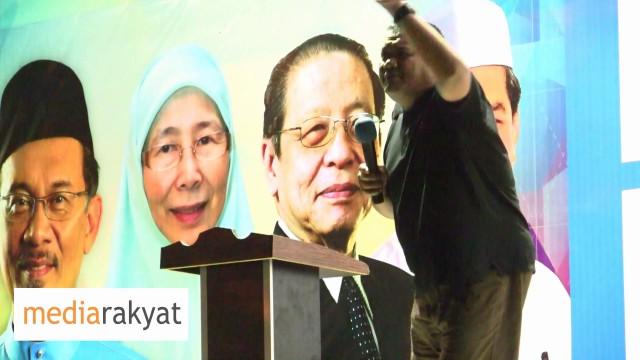 Sany Hamzan: Najib, Apa Kepentingan Kamu Dengan Tauke Arab? Apa Kepentingan Tauke Arab Dengan Kamu?