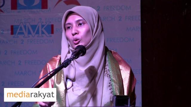 Nurul Izzah: Jangan Kita Biarkan Anwar Ibrahim Mati Dalam Penjara