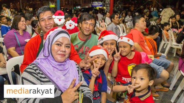 Selangor State 2015 Christmas Celebration In Picture