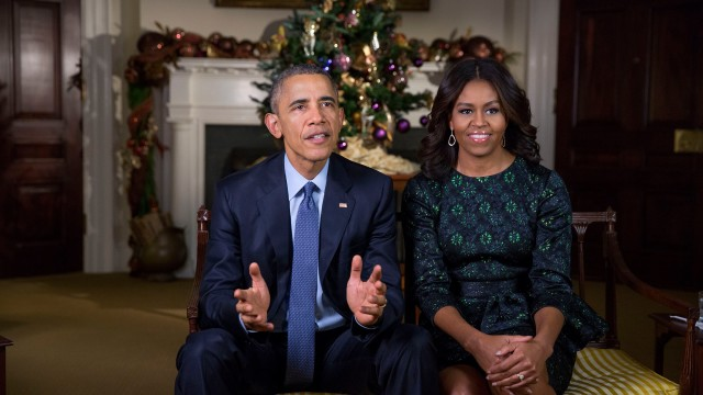 Merry Christmas from the President and First Lady
