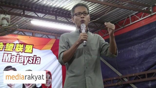 Tony Pua: Yang sebenar-benarnya anti-Melayu adalah pemimpin-pemimpin UMNO yang mencuri wang rakyat