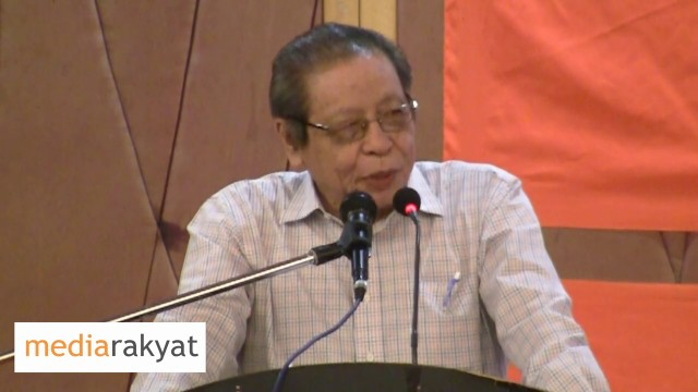 Lim Kit Siang: Najib making fatal mistake of  underestimating the intelligence of Internet users in Malaysia
