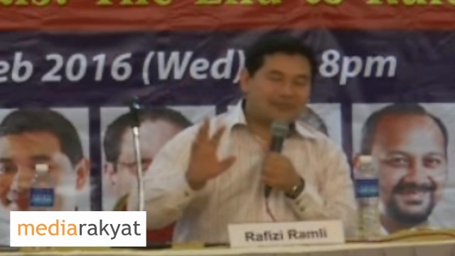 Rafizi Ramli: It's Wrong To Say That Malays Are Incapable Of Change