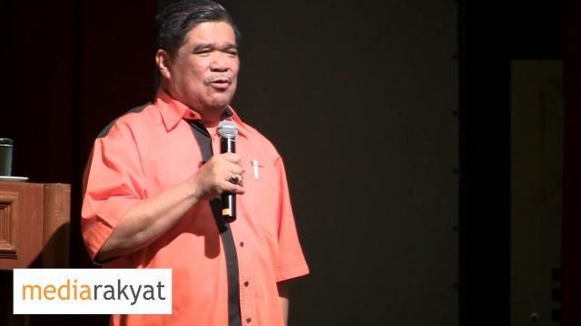 Mat Sabu: Tak Boleh Kita Tolak UMNO, Kita Tak Tolak Pemimpin Mereka