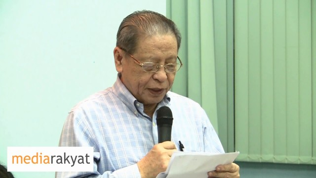 Lim Kit Siang: Mahathir Is Not My Stooge, I Am Not Mahathir's Stooge