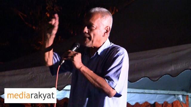 Muhammad Taib: Rakyat Bukan Hanya Nak Suruh Najib Berhenti, Rakyat Hendak Reform, Nak Ubah