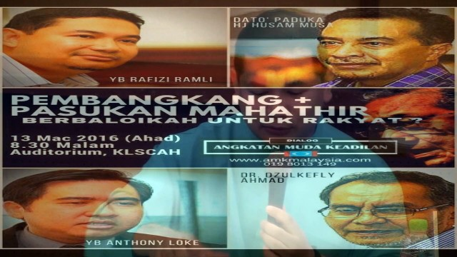 Rafizi Ramli: Kalau Najib Turun, Lepas Akan Naik Zahid Ke Siapa Ke, Sama Juga?