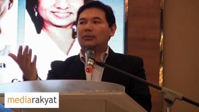 RAFIZI RAMLI: RAKYAT KINI TANGGUNG HUTANG RM2.4 BILION DARI SUKUK TERBITAN BANDAR MALAYSIA/1MDB