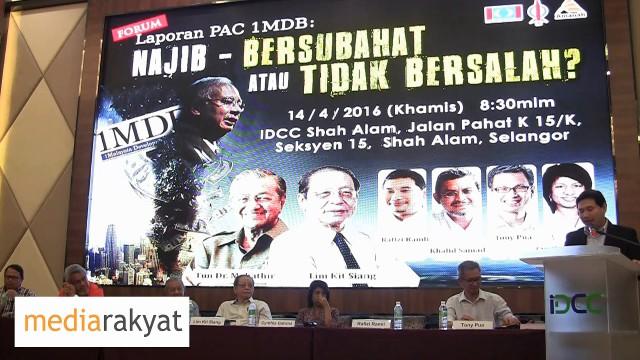 Rafizi Ramli: Saya Yakin Satu Hari Nanti James Bond Akan Buat Cerita 1MDB