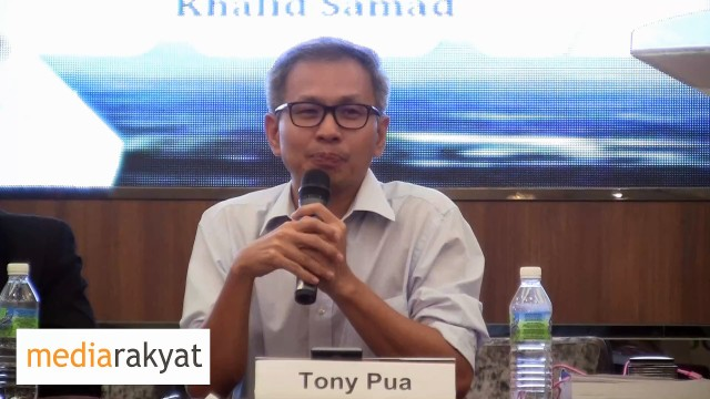 Tony Pua: Najib must confirm if his office has decided to award the East Coast rail contract to Chinese construction company for RM60 billion