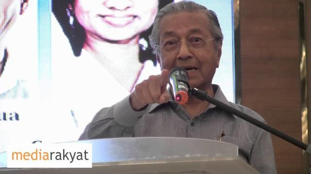 Dr Mahathir: Cash Is King, Tapi Dia Tak Ada Duit, Apa Dia Buat? Curilah!