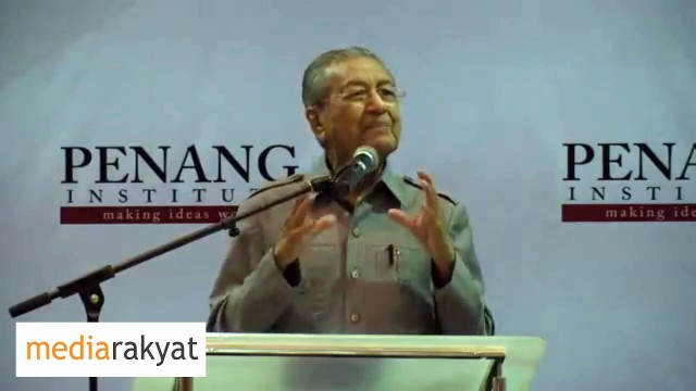 Dr Mahathir: 1MDB Is Not Sovereign Wealth, It's The Money He Borrowed