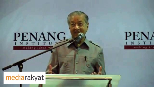 Dr Mahathir: The Debt Is Going To Be Paid By You, Your Children & Your Grand Children