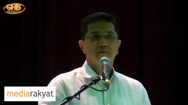 Azmin Ali: Dimana Kita Nak Letak Maruah Kita Sebagai Rakyat Malaysia?